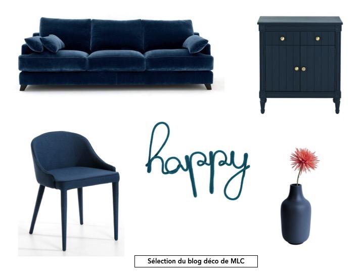 le bleu paon une couleur tendance le blog d co de mlc. Black Bedroom Furniture Sets. Home Design Ideas