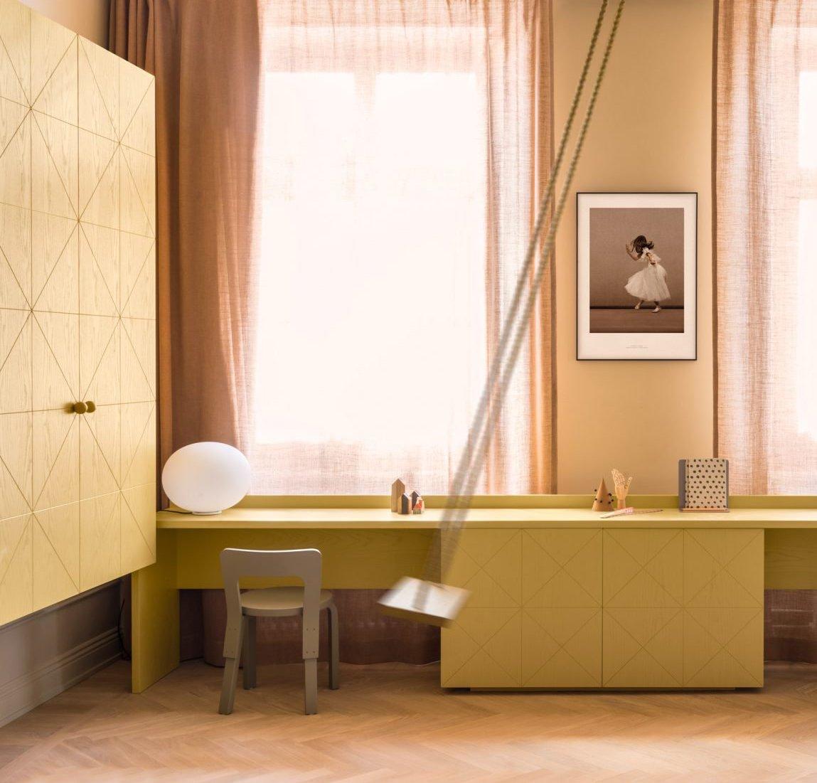 couleur vert amande appartement deco. Black Bedroom Furniture Sets. Home Design Ideas