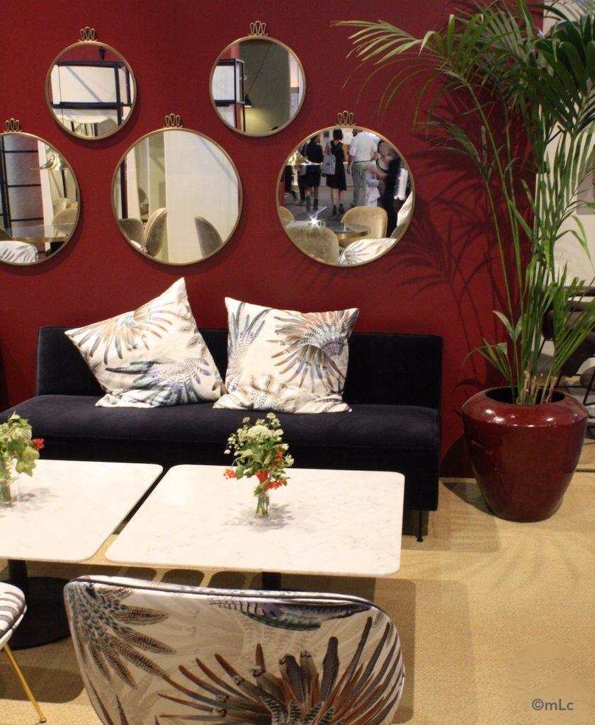Miroir design archives le blog d co de mlc for Miroir rond salon