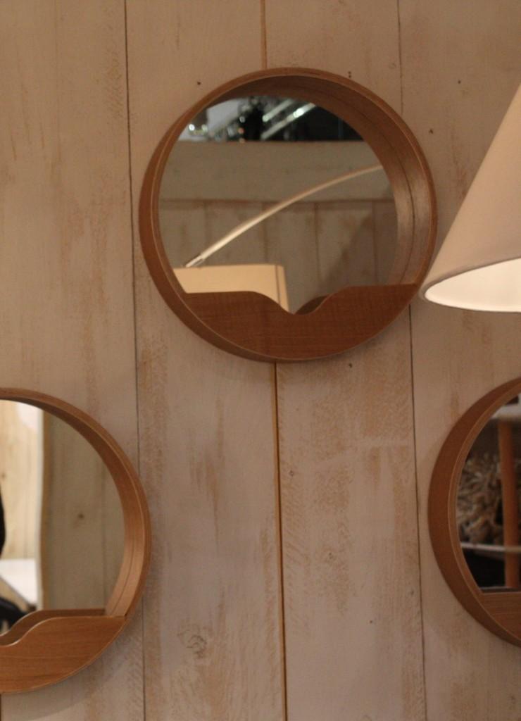 miroirs bois clair