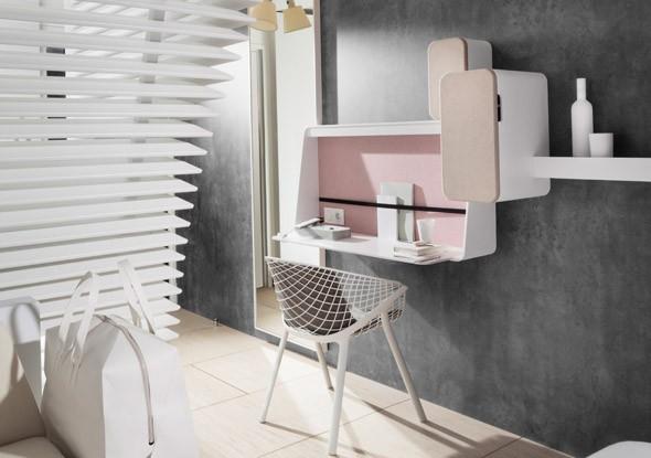 chambre-hôtels-OKKO-grise-rose