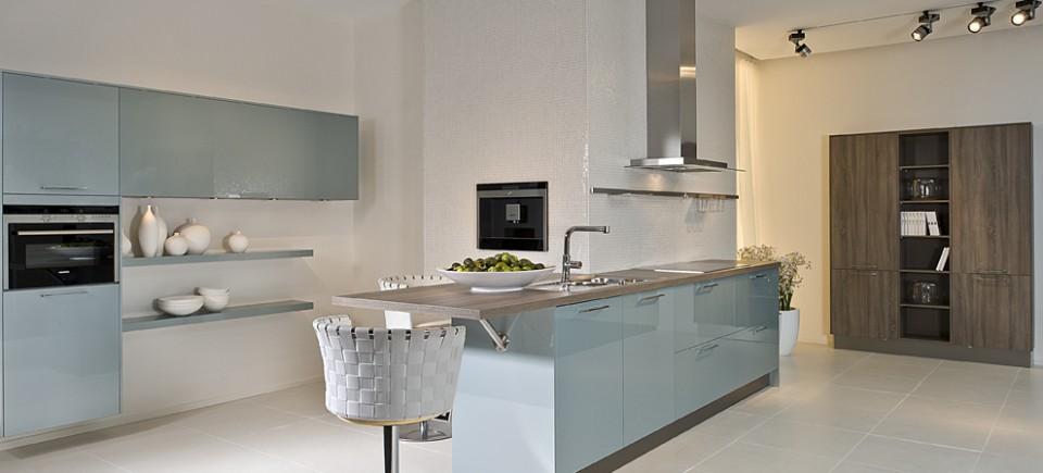 Cuisine couleur pastel bleu clair ou vert clair blog d co mlc - Choisir la couleur de sa cuisine ...