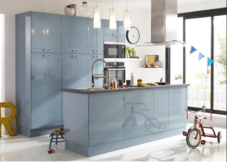 Cuisine-Bleu-pale-vert-menthe-Quelle couleur-choisir-pour-rénovation-leroy-merlin