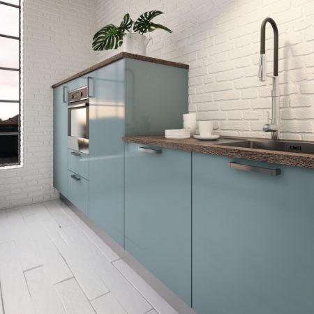 Cuisine-Bleu-pale-vert-menthe-Quelle couleur-choisir-pour-rénovation -style_industriel_hygena