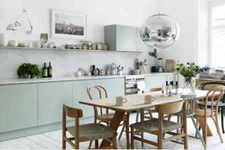 Cuisine-Bleu-vert-menthe-Quelle couleur-choisir-pour-rénovation-valerie-mazerat