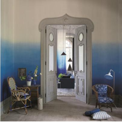 Degrade De Couleurs En Tie Dye Deco Mur Papier Peint Designer Guild
