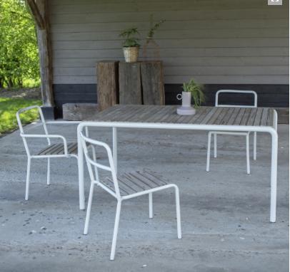 quelle table et chaise de jardin choisir pour r unir sa tribu. Black Bedroom Furniture Sets. Home Design Ideas