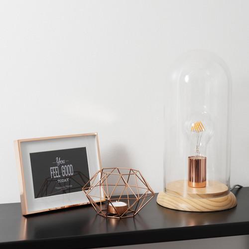 luminaire cuivre nouveauté lampe cloche maison du monde