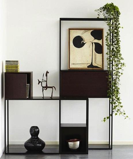 une jolie tag re m tal fine meuble biblioth que. Black Bedroom Furniture Sets. Home Design Ideas