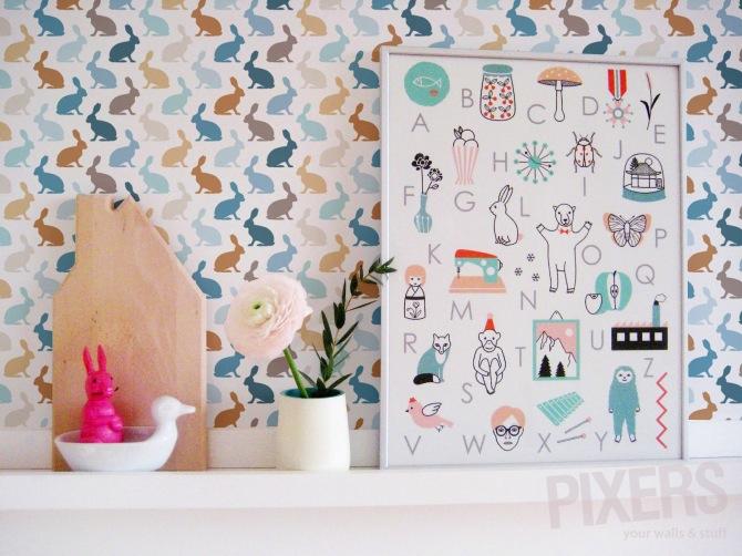 Deco Chambre Bebe Papier Peint Enfant