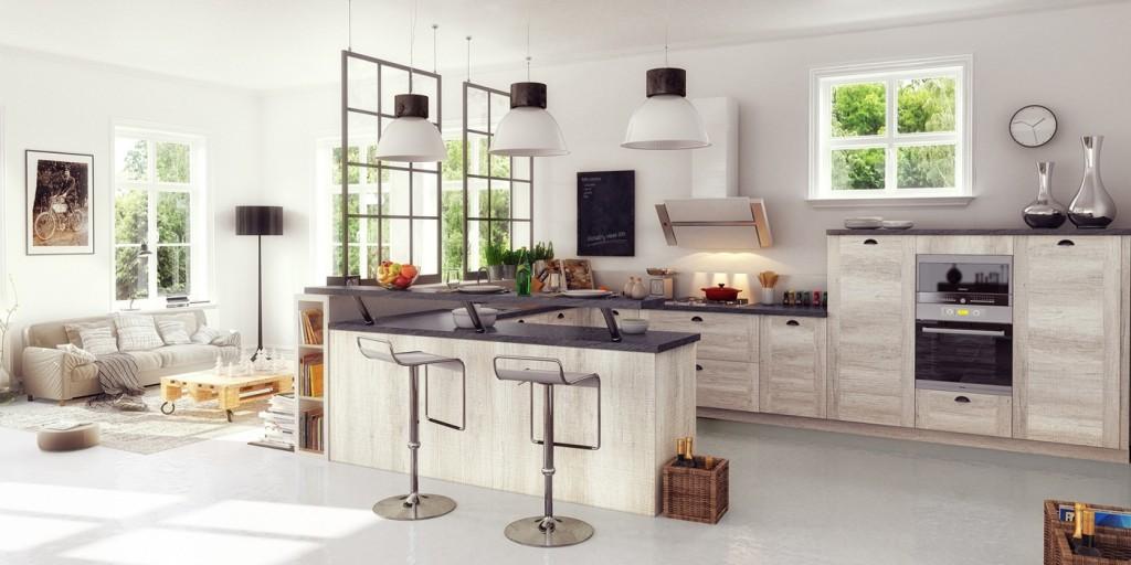 cuisine-ouverte-salon-verriere-industrielle