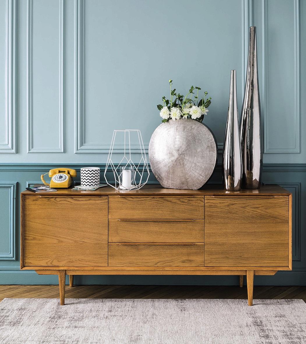 Les 10 plus belles enfilades d co buffet entr e ou salle - Meubles bois clair design ...