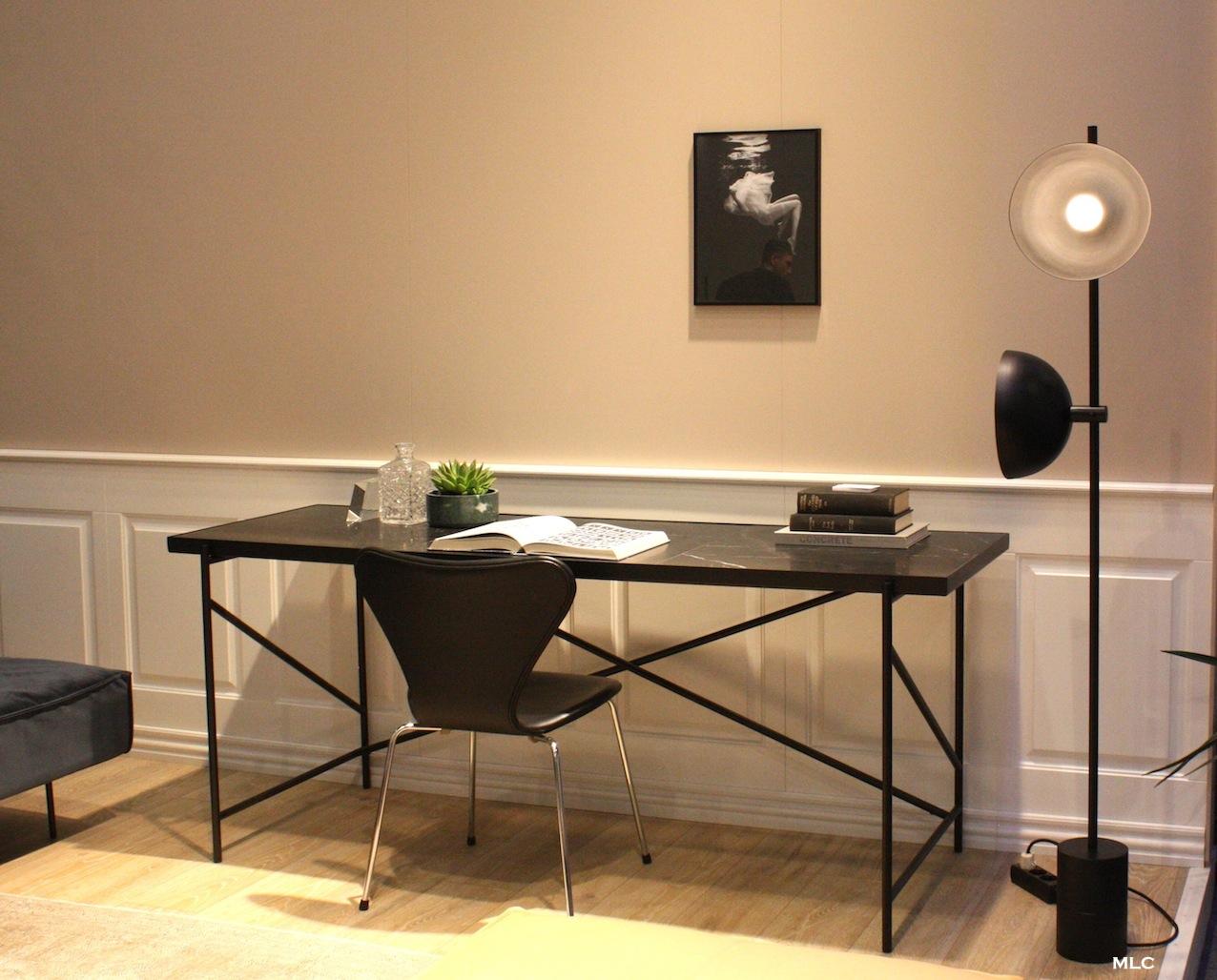Beau bureau table marbre le déco de mlc