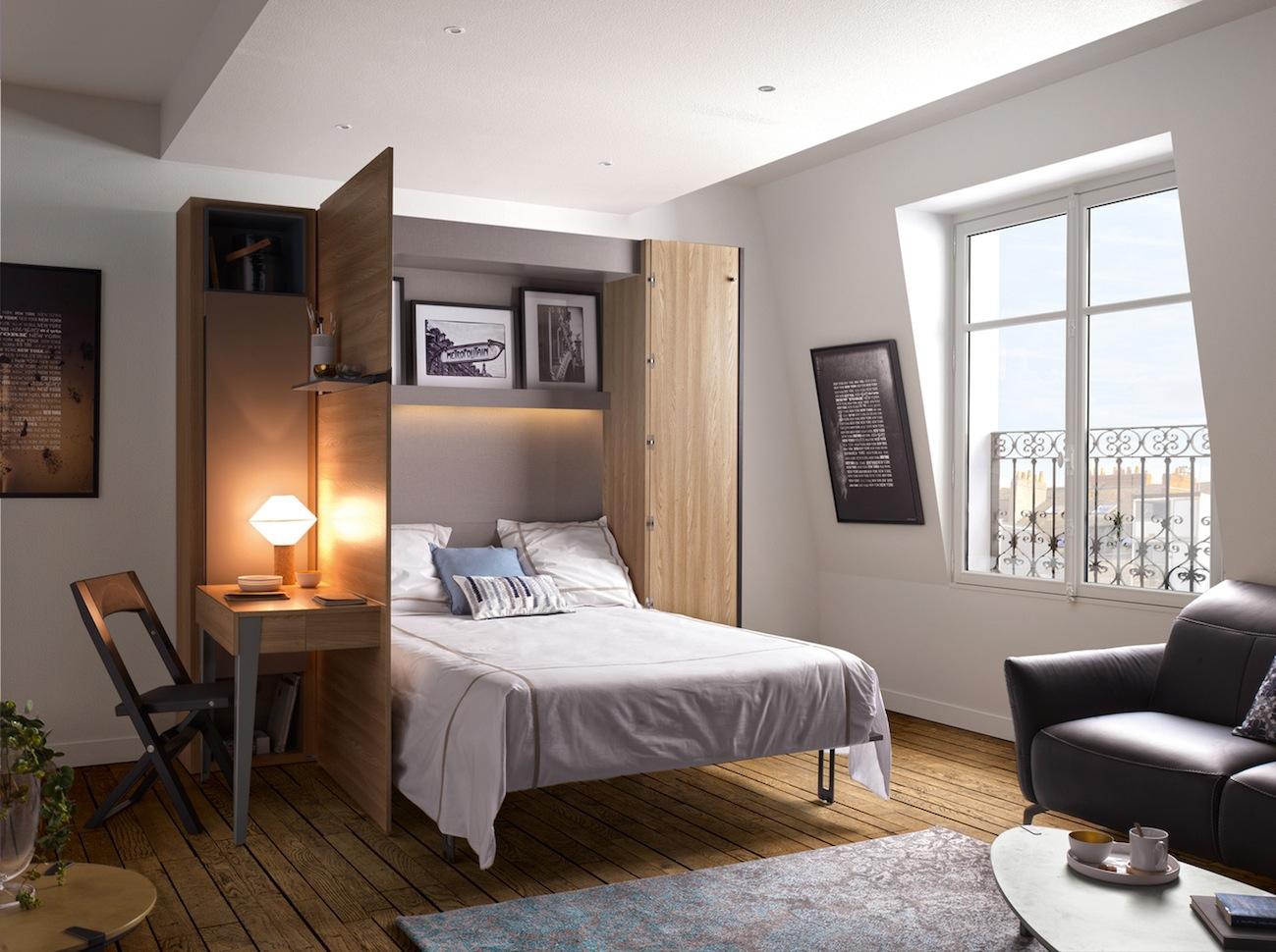 lit escamotable armoire des meubles gautier blog d co mlc. Black Bedroom Furniture Sets. Home Design Ideas