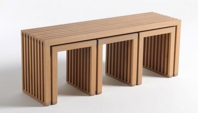 Petit Banc Exterieur banc de jardin et tabouret en bois - le blog déco de mlc
