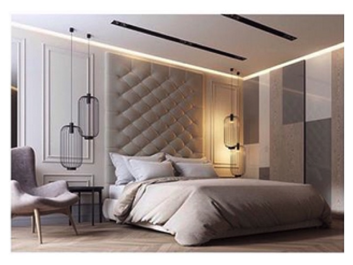 la lampe de chevet se place en suspension dans la chambre le blog d co de mlc. Black Bedroom Furniture Sets. Home Design Ideas
