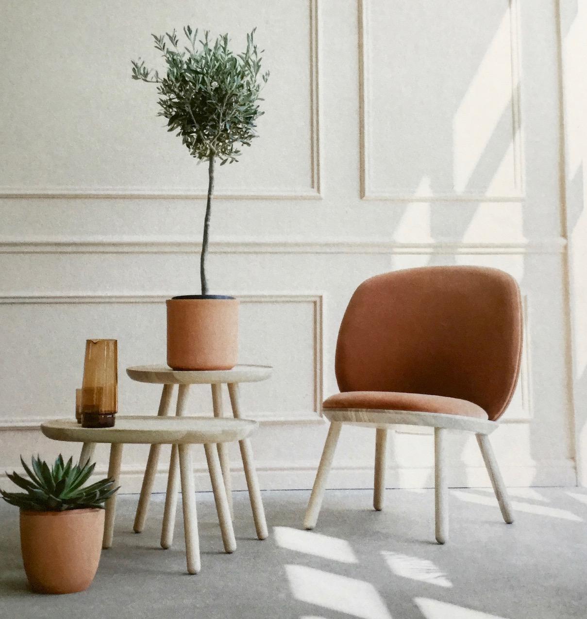 na ve le joli petit fauteuil scandinave velours. Black Bedroom Furniture Sets. Home Design Ideas